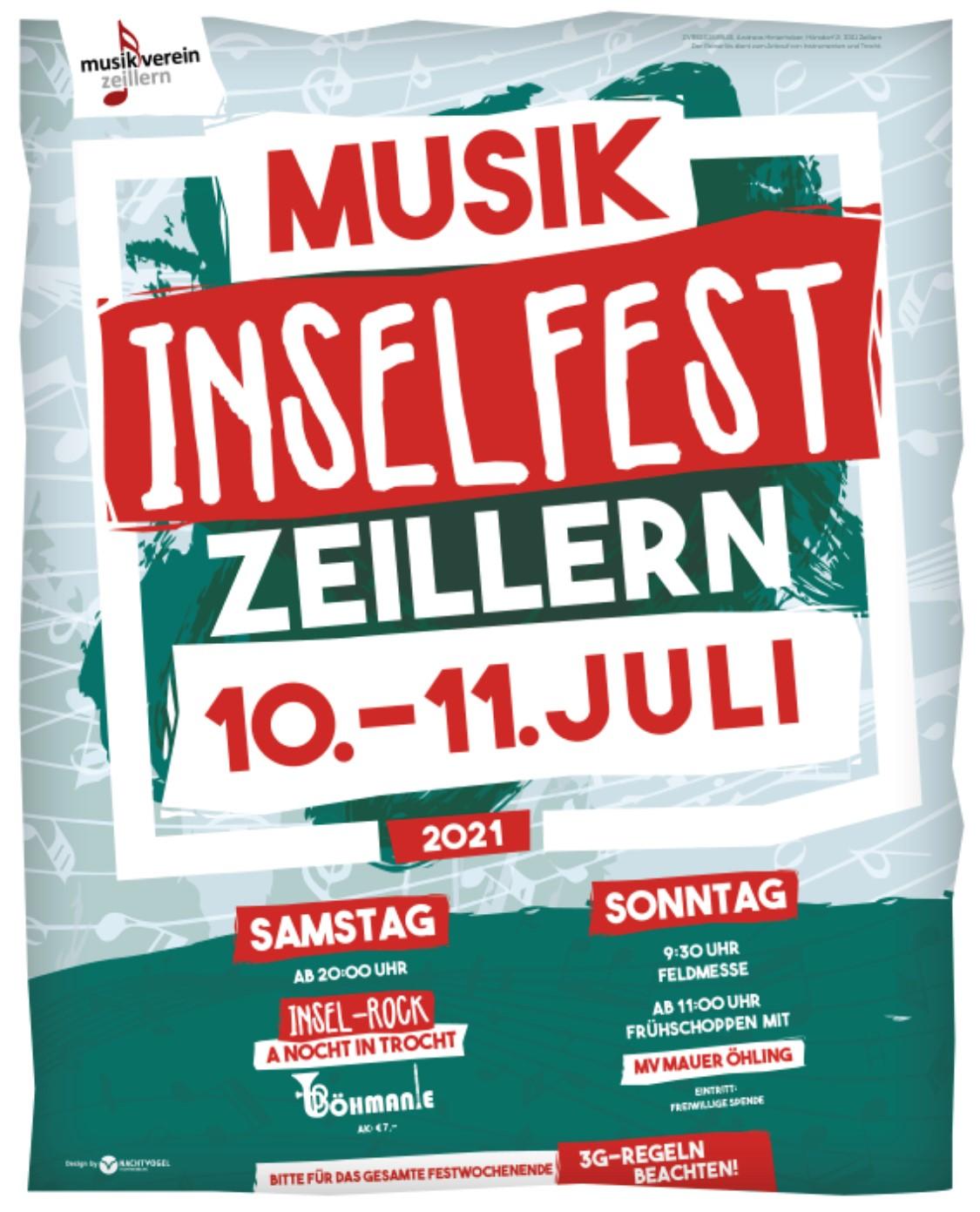 Plakat Inselfest 2021